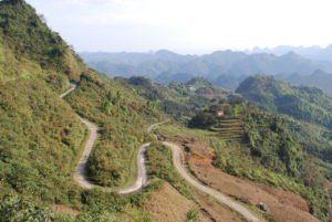 dans la province de ha giang vietnam