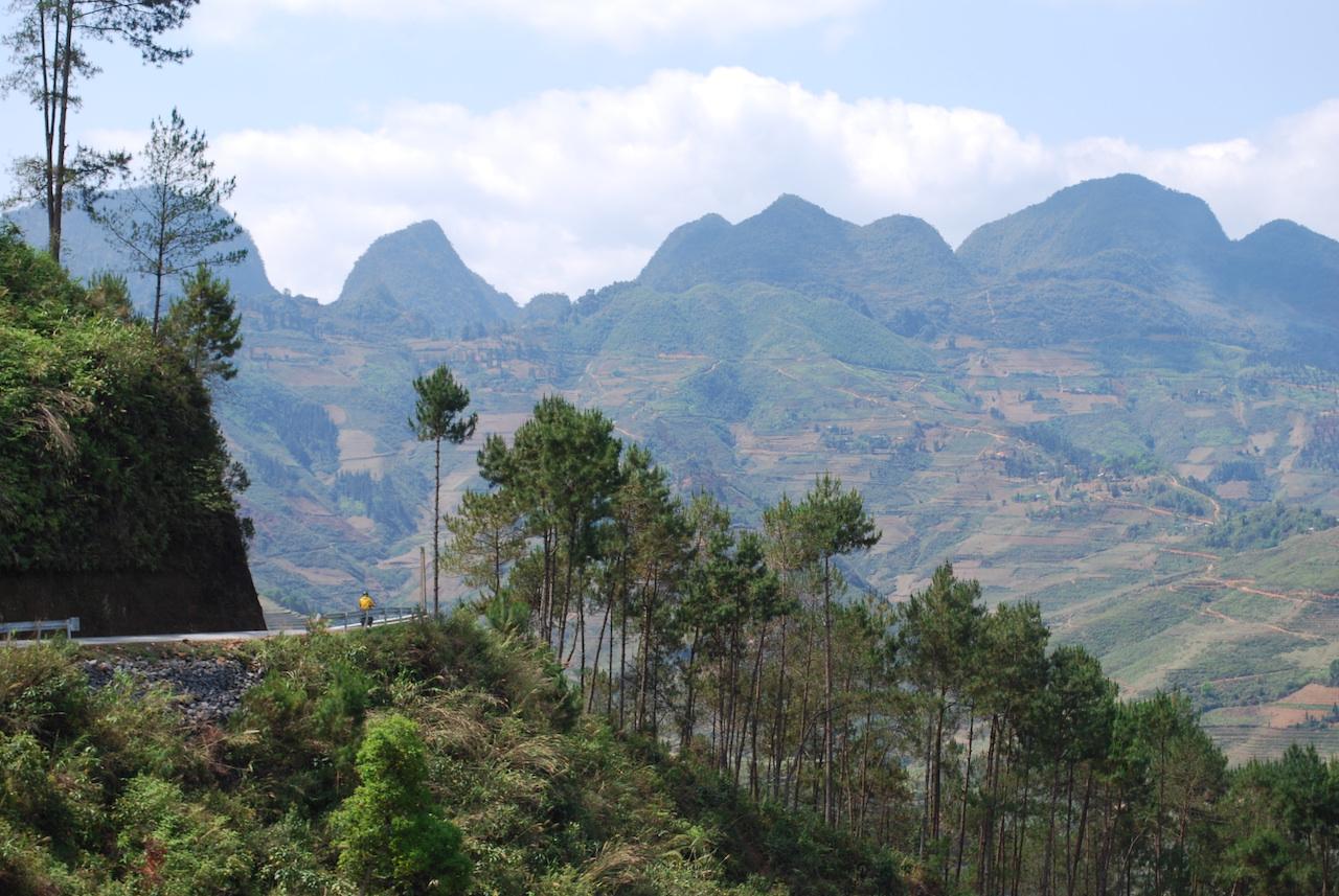 road trip dans la province de ha giang vietnam