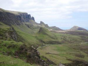 The Quiraing, ile de skye, ecosse