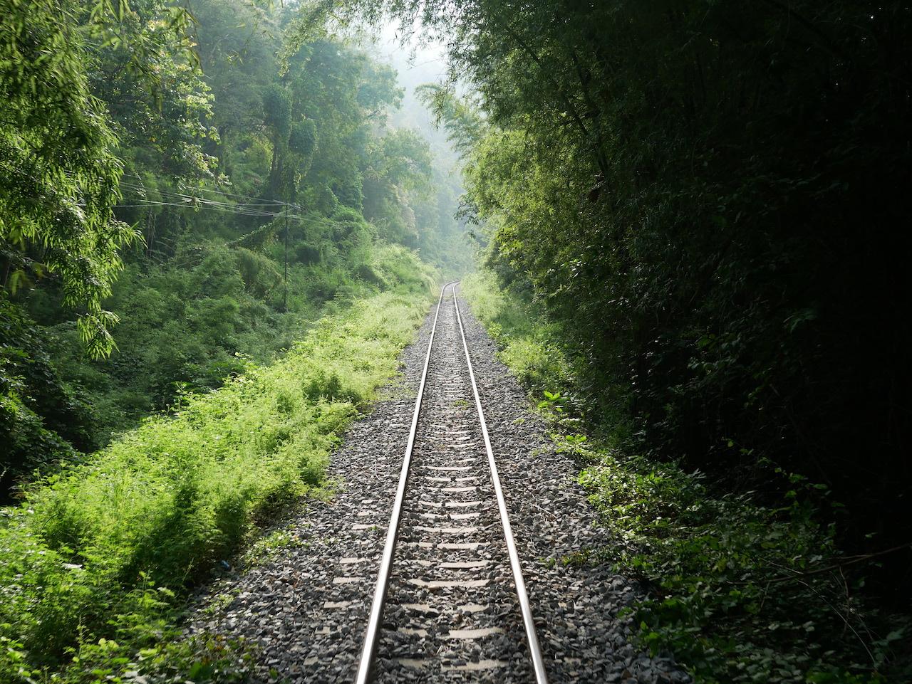 Thaïlande #11 : Kanchanaburi & les chutes d'Erawan