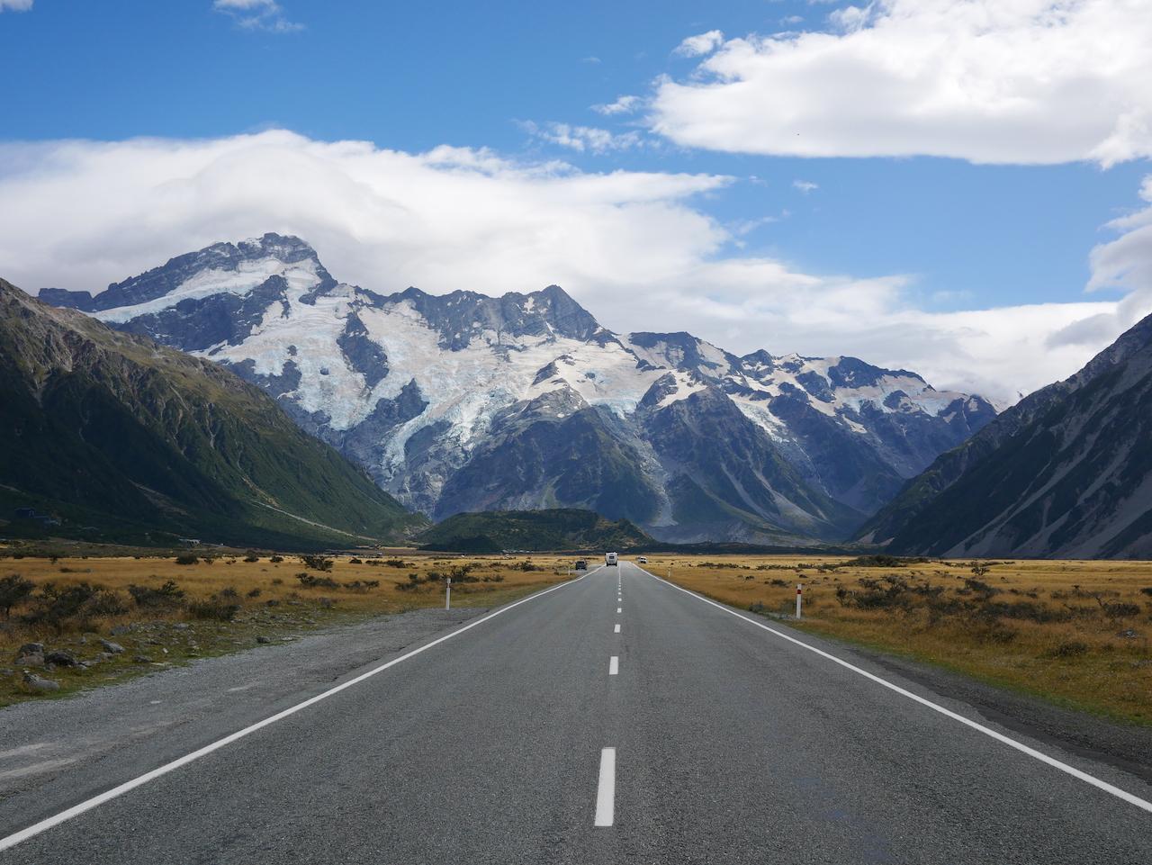 Sur l'île du Sud de la Nouvelle Zélande #4 : Le Mont Cook