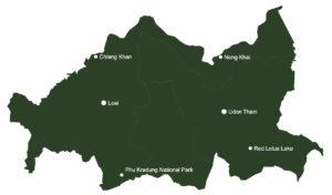 carte détaillée de l'isan